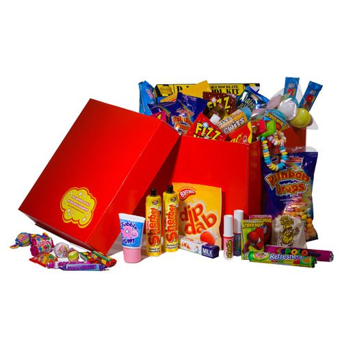 The Ultimate Retro Sweets and Candy Gift Hamper - Packed with every sweet you can remember