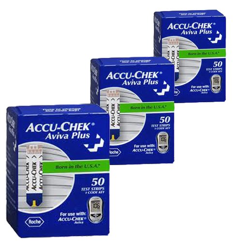 Accu-Chek Aviva Plus Glucose Test Strips (150 Count)