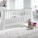 Izziwotnot Bailey Sleigh Cot Bed (White)