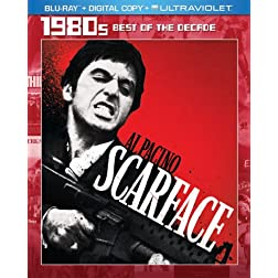 Scarface (1983) (Blu-ray + Digital Copy + UltraViolet)