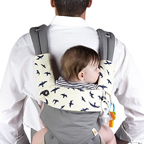 Drool-Teething-Pad-for-Ergobaby-Four-Position-360-Baby-Carrier-3-Piece-Set