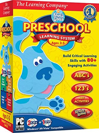 TLC Blue's Clues Preschool Learning System 2008