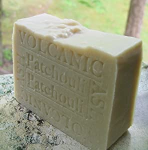 Volcanic Ash Soap with Cocoa Butter and Patchouli- Great for Eczema, Psoriasis or Acne!