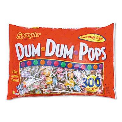 spangler ダムダムポップス DUMDUMPOPS 300本 1440g 棒付きキャンディー パーティー クリスマスに