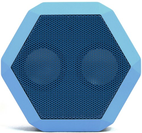 Boombotix Rex Wireless Ultraportable Weatherproof Speaker For Ipods Smartphones Tablets And Laptops (Electric Blue)