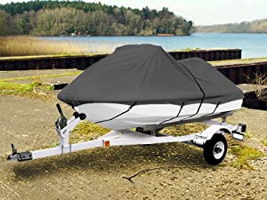 Gray trailerable pwc personal watercraft cover for Yamaha jet ski covers