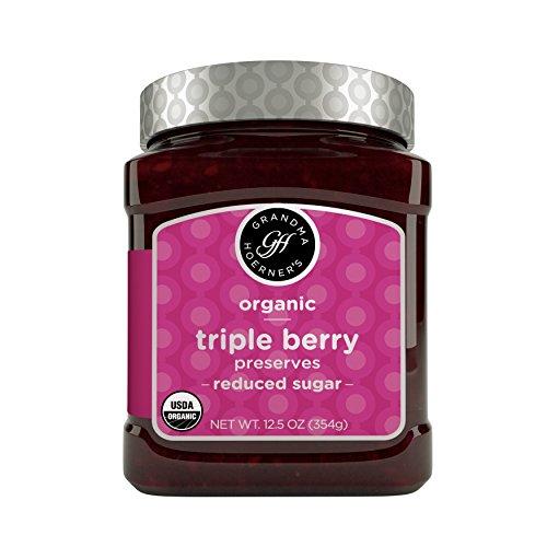 Grandma Hoerner's Organic Preserves, Triple Berry,
