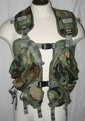 US Military Enhanced Tactical Load Bearing Vest