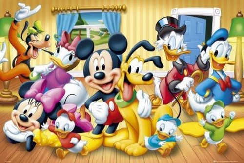 Posters: Walt Disney Poster - Mickey And Friends (36 X 24 Inches) front-41463