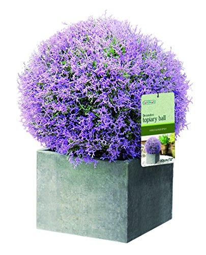 gardman-02810-palla-topiaria-con-effetto-fiore-viola-diametro-30cm