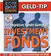 WISO Geld Tip. Investmentfonds. CD- ROM. Der objektive Fonds- Kompa�