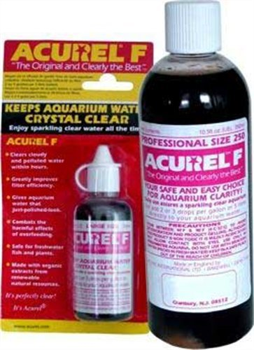 Acurel F25 Millimeter Water Clarifier, Aquarium, Treats 265 Gallons (Cloudy Water compare prices)