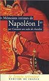 echange, troc Constant - Memoires intimes de napoleon premier : tome 2
