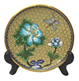 One of assorted design and color: Chinese cloisonne plate dish - 4