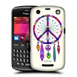 Head Case Catcher Peace Emblems Hard Back Case Cover For Blackberry Curve 9360