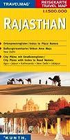 KUNTH Reisekarte Indien: Rajasthan 1 : 1. 500 000: Reisekarten Asien