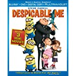[US] Despicable Me (2010) [Blu-ray + DVD + UltraViolet]