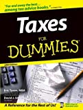 Taxes For Dummies (076454117X) by Tyson, Eric