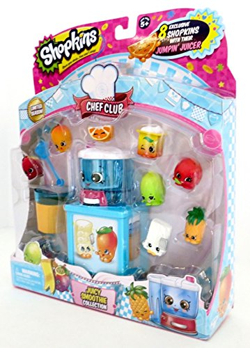 Shopkins Season Limited Season 6 Juicy Smoothie Collection Jumpin' Juicer and 8 Exclusive Shopkins