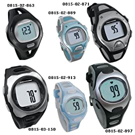 Pro Form Heart Rate Monitors - Pro Trainer, Men's Black/Silver
