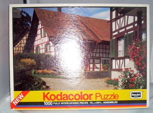 Kodacolor 1000 Pieces Swiss Farmhouse by Rose Art - 1