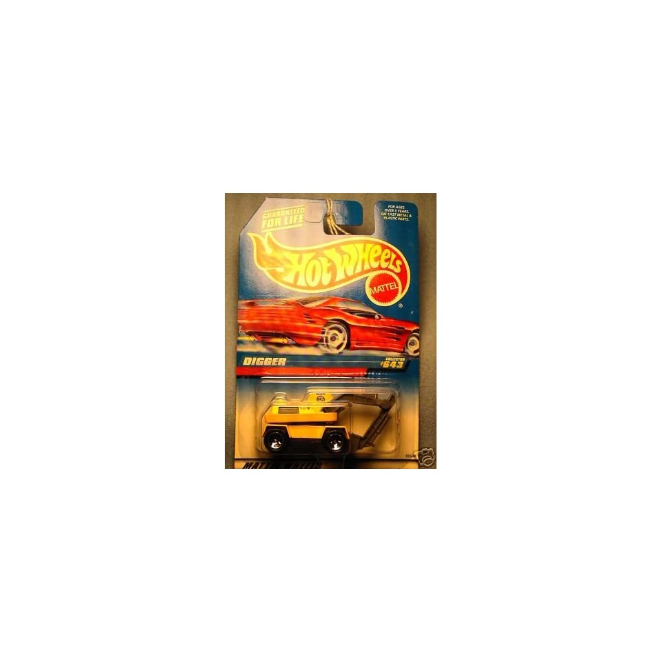 Mattel Hot Wheels 1998 164 Scale Yellow Digger Die Cast Car Collector #643