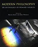 Modern Philosophy: An Anthology of Primary Sources (0872204405) by Roger Ariew