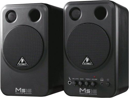 8# Behringer MS16 Powered Studio Desktop Monitors | !8: Buyers Altec