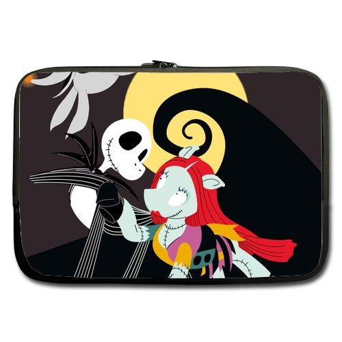 Anhome Nightmare Before Christmas Cartoon Dog Skull And Moon Sleeve For Macbook Pro / Sleeve For Laptop / Notebook Computer / Macbook / Macbook Pro / Macbook Air 15'' front-888247