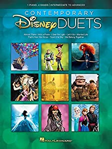Contemporary Disney Duets. Sheet Music for Piano Duet from Hal Leonard Disney