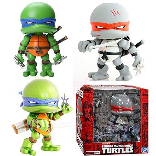 Teenage Mutant Ninja Turtles Q Version Display Figures Pack of 3 (PVC) 7-inches