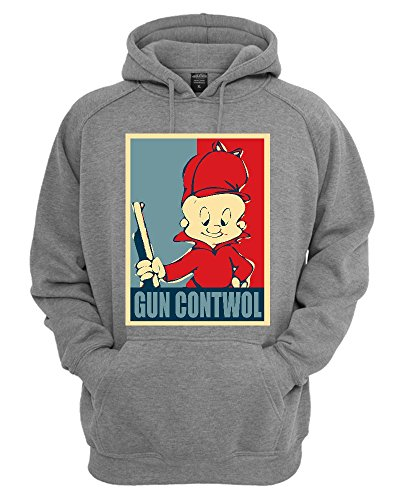 elmer-fudd-gun-contwol-poster-funny-unisex-pullover-hoodie-xx-large