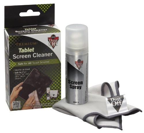 Polvere-Off Spray per Tablet con panno in microfibra