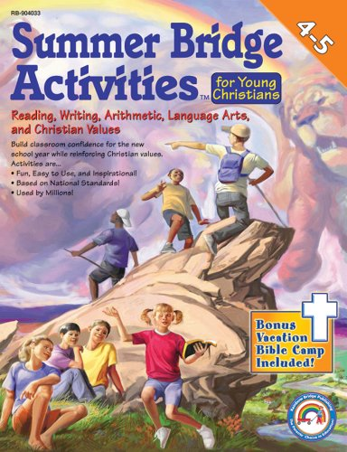 Summer Bridge Activities for Young Christians (Summer Bridge Activities)(4-5)