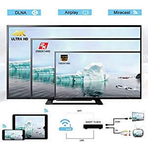 Android 5 1 Smart TV BOX, Mostfeel 1GB/8GB 4K Ultra HD HDMI