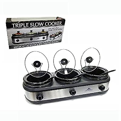 Wholesale Triple Slow Cooker from DollarItemDirect