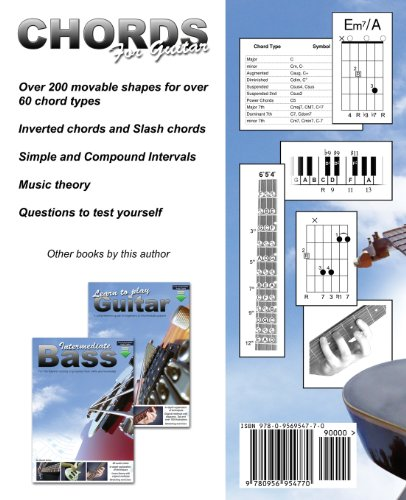 Chords for Guitar: Transposable Chord Shapes using the CAGED System ...