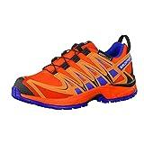 Salomon Kinder Trail Running Schuhe XA Pro 3D CSWP J Lava Orange/Orange Rust/Blue Yonder 35