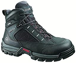 Wolverine Men\'s W02363 Amphibian Boot, Black, 8.5 M US