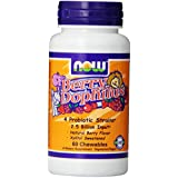 NOW Foods BerryDophilus  60 Chewables