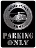 US Army Custom Parking Sign Metal Sign from Redeye Laserworks