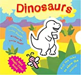 img - for A Mini Magic Color Book: Dinosaurs (Magic Color Books) book / textbook / text book