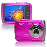 "18MP Pink WP6800 2.4"" LCD Digital Waterproof Camera"