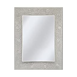 Head West Crystal Mosaic Rectangle Mirror, 23-1/2 by 29-1/2-Inch