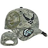 United States Air Force Military Velcro Digital War Seal Camouflage Camo Hat Cap