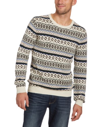 Selected Homme Humphrey Crew Neck Men's Jumper Off White X-Large