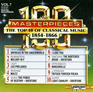Top 10 of Classical Music 1854-1866 7