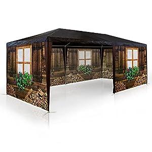 pavillon skih tte almh tte oktoberfest partyzelt 3x6m bierzelt gartenlaube h ttendesign. Black Bedroom Furniture Sets. Home Design Ideas