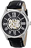 Stuhrling Original Men's 747.02 Atrium Automatic Skeleton Black Watch