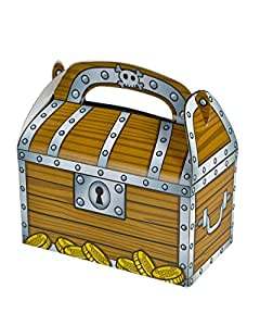 Rhode Island Novelty Treasure Chest Party Treat Boxes